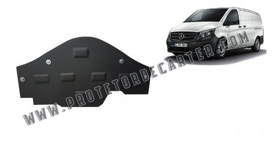 Protetor de Carter de aço the protection of the Stop&Go system Mercedes V-Classe W447, 4x2, 1.6 D